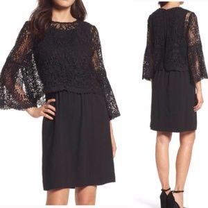 Kobi Halperin Black Remi Night Out Dress